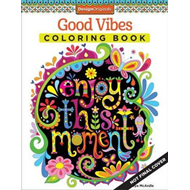 Produktbilde for Good Vibes Coloring Book (BOK)