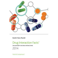 Drug Interaction Facts: The Authority on Drug Interactions: 2014 (BOK)