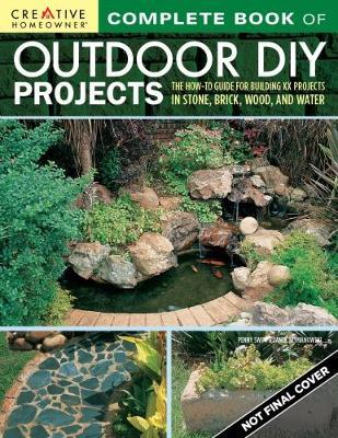 Complete Book of Outdoor DIY Projects (BOK)