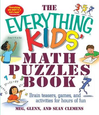 Everything Kids' Math Puzzles Book (BOK)
