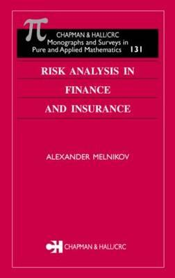 Risk Analysis in Finance and Insurance (BOK)