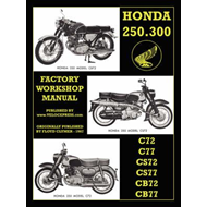 Honda Motorcycles Workshop Manual 250-300 Twins (BOK)