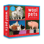 Wool Pets on the Farm Needle Felting Kit (BOK)