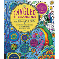 Tangled Treasures Coloring Book (BOK)
