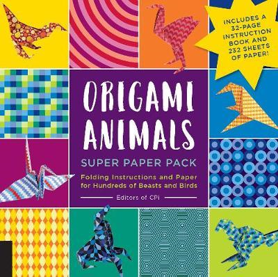 Origami Animals Super Paper Pack (BOK)