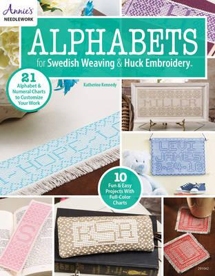 Alphabets for Swedish Weaving & Huck Embroidery (BOK)