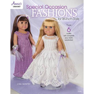 Special Occasion Fashions for 18-Inch Dolls (BOK)