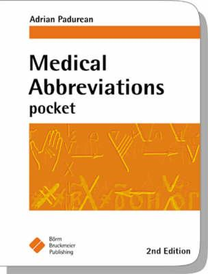 Medical Abbreviations Pocket (BOK)