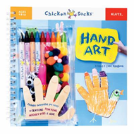 Hand Art: A Trace and Colour Handbook (BOK)