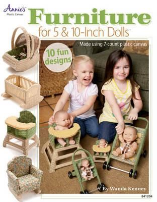 "Furniture for 5"" & 10"" Dolls: Made Using 7-count Plastic Canvas (BOK)"