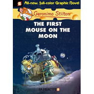 Geronimo Stilton Graphic Novels #14: The First Mouse on the (BOK)