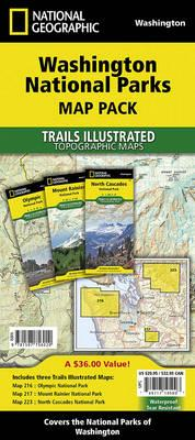 Washington National Parks, Map Pack Bundle (BOK)