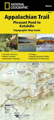 Appalachian Trail, Pleasant Pond to Katahdin, Maine (BOK)