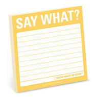 Say What? Sticky Note (BOK)
