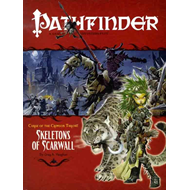 Pathfinder #11 Curse of the Crimson Throne: Skeletons of Sca (BOK)