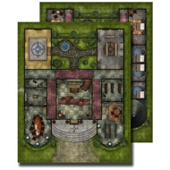 GameMastery Flip-Mat: Pathfinder Lodge (BOK)