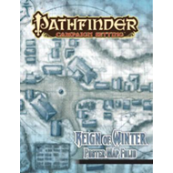 Pathfinder Campaign Setting: Reign of Winter Poster Map Foli (BOK)