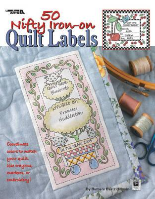 50 Nifty Iron-on Quilt Labels (BOK)