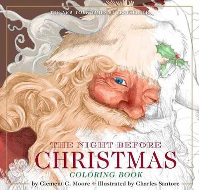 Night Before Christmas Coloring Book (BOK)