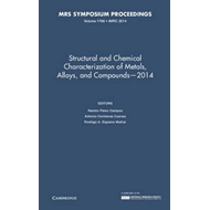 Structural and Chemical Characterization of Metals, Alloys, (BOK)