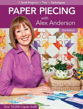 Paper Piecing With Alex Anderson 2ed (BOK)