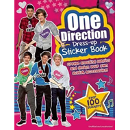 One Direction Dress-Up Sticker Book (BOK)