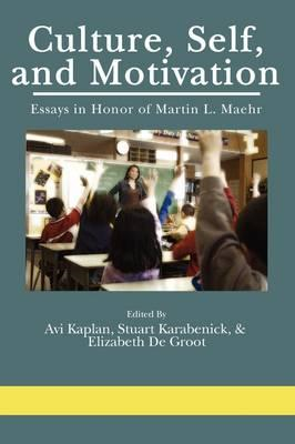 Culture, Self, and, Motivation (BOK)