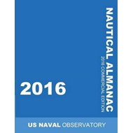 2016 Nautical Almanac (BOK)