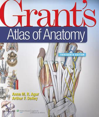 Grant's Atlas of Anatomy, North American Edition (BOK)
