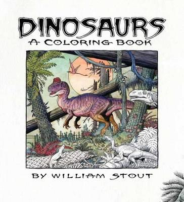 Dinosaurs: A Coloring Book By William St (BOK)