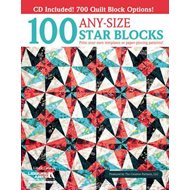 100 Any-size Star Blocks: Print Your Own Templates or Paper-piecing Patterns! (BOK)