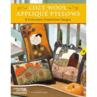 Cozy Wool Applique Pillows: 8 Embroidery Embellished Designs (BOK)