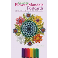 Coloring Flower Mandala Postcards (BOK)