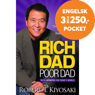 Produktbilde for Rich Dad Poor Dad - What the Rich Teach Their Kids About Money That the Poor and Middle Class Do Not (BOK)