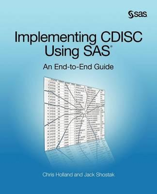 Implementing Cdisc Using SAS (BOK)