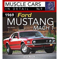 1969 Ford Mustang Mach 1 Muscle Cars In Detail No. 9 (BOK)