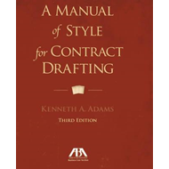 Manual of Style for Contract Drafting (BOK)
