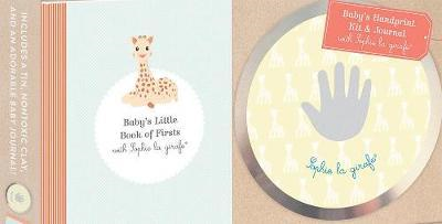 Baby's Handprint Kit and Journal with Sophie la Girafe (BOK)