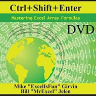 Ctrl+shift+enter: Mastering Excel Array Formulas (BOK)