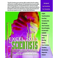 Excel 2013 for Scientists (BOK)