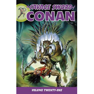 Savage Sword Of Conan Volume 21 (BOK)