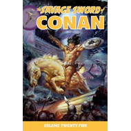 Savage Sword Of Conan Volume 22 (BOK)