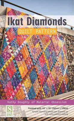 Ikat Diamonds Quilt Pattern (BOK)
