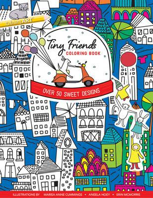 Tiny Friends Coloring Book (BOK)