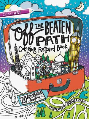 Off the Beaten Path Coloring Postcard Book (BOK)