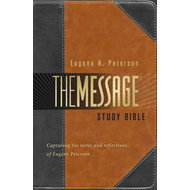 Message Study Bible-MS (BOK)