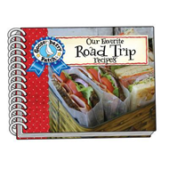 Our Favorite Road Trip Recipes with a photo cover (BOK)