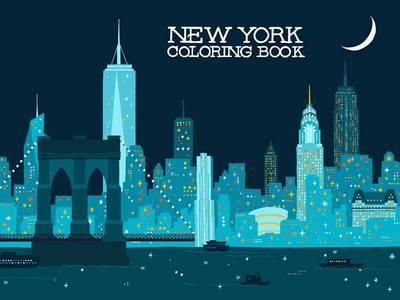 New York Coloring Book (BOK)