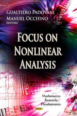 Focus on Nonlinear Analysis Research (BOK)