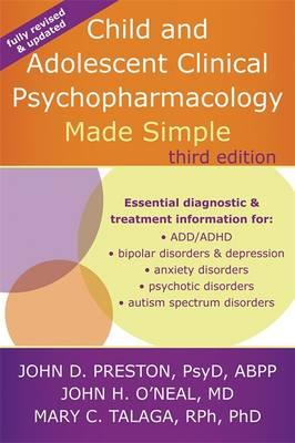 Child and Adolescent Clinical Psychopharmacology Made Simple (BOK)